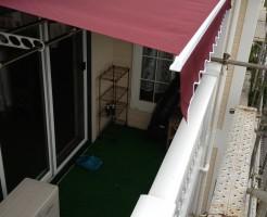 テラスオーニングテント取り付け工事 (2)