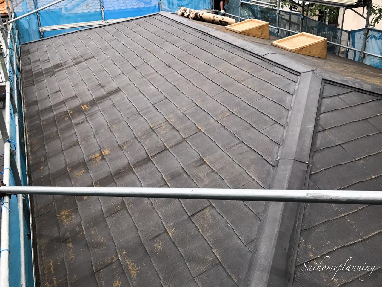 逗子市雨漏り修理屋根修理前