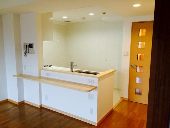フルリフォームオープンキッチン