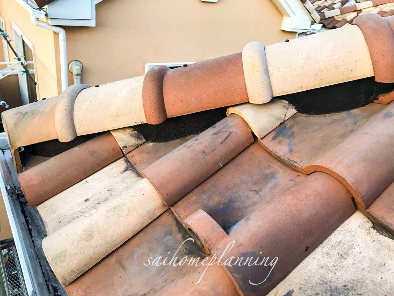 台風での屋根修理after01